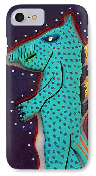 Edward The Walking Ardvark Phone Case by Robert Margetts