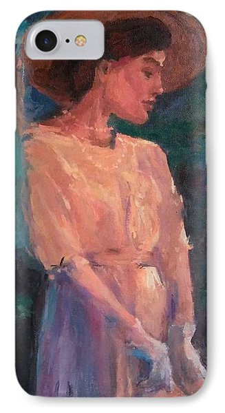 Edwardian Katie #1 Phone Case by Brian Kardell