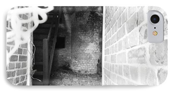 Eerie Look Inside The Martello Tower At Phone Case by Natalie Anne