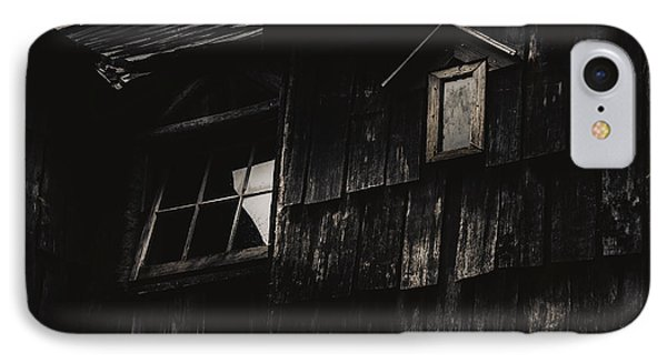Eerie Vintage Abandoned Home. The Dark Shack IPhone Case by Jorgo Photography - Wall Art Gallery