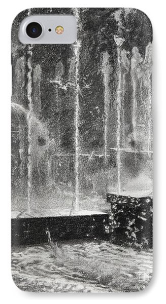 Effervescence Fountain In Milano Italy Phone Case by Kelly Borsheim