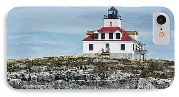 IPhone Case featuring the photograph Egg Rock Lighthouse by Anthony Baatz