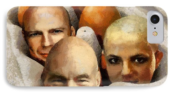 Eggheads Phone Case by Anthony Caruso