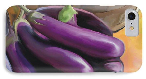 Eggplant IPhone Case by Bob Salo