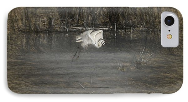 Egret 2 IPhone Case by Travis Burgess