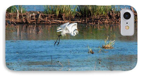 IPhone Case featuring the photograph Egret 5 by Travis Burgess