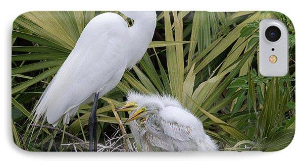 Egret Nest IPhone Case