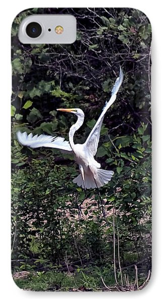 Egret X Phone Case by Gary Adkins