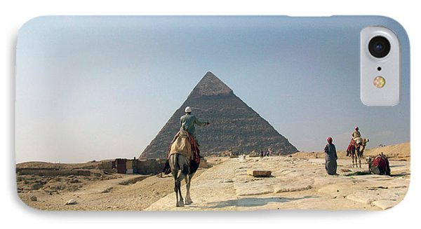 Egypt - Pyramid3 Phone Case by Munir Alawi