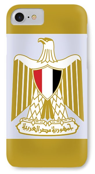 IPhone Case featuring the drawing Egypt Coat Of Arms by Movie Poster Prints