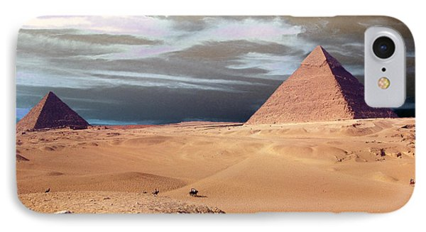 Egypt Eyes Phone Case by Munir Alawi