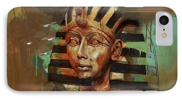 Egyptian Culture 52 IPhone Case by Corporate Art Task Force