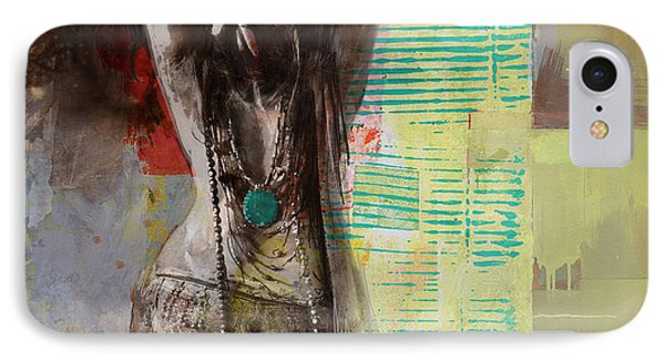 Egyptian Culture 85b IPhone Case by Maryam Mughal