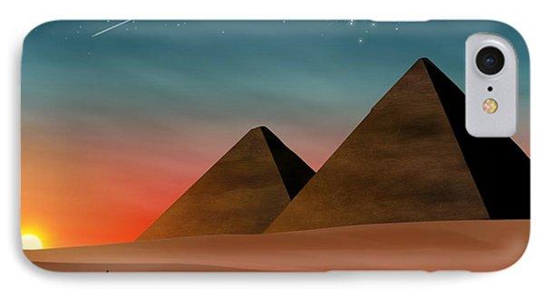 Egyptian Pyramids IPhone Case