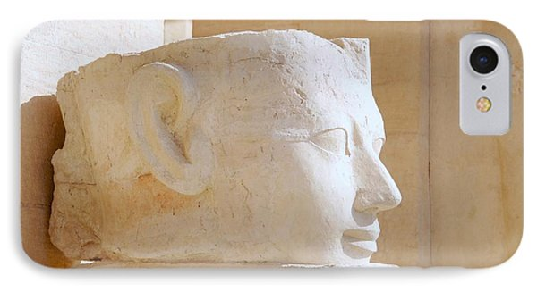 Egyptian Queen Hatchepsut Head IPhone Case by Sherry Pratt