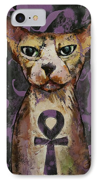Egyptian Sphynx IPhone Case by Michael Creese
