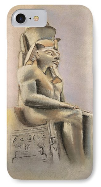 IPhone Case featuring the pastel Egyptian Study II by Elizabeth Lock