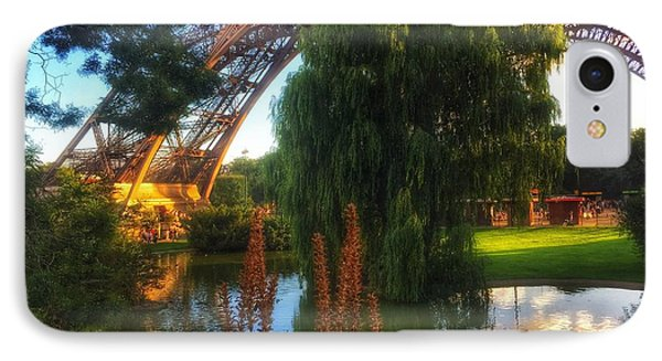 IPhone Case featuring the photograph Eiffel by Marty Cobcroft