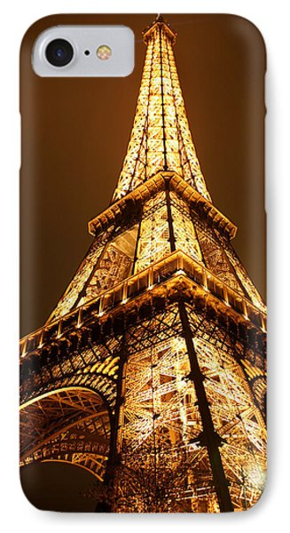 Eiffel IPhone Case by Skip Hunt