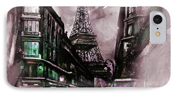 Eiffel Tower 02  IPhone Case by Gull G