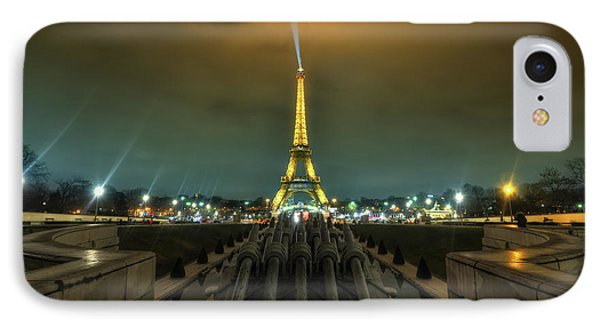 Eiffel Tower 1.0 IPhone Case by Yhun Suarez