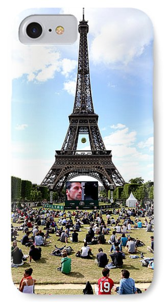 Eiffel Tower 14 IPhone Case by Andrew Fare