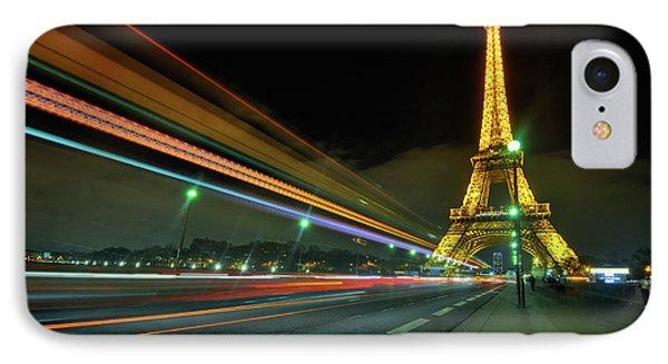 Eiffel Tower 2.0 IPhone Case by Yhun Suarez