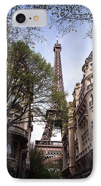 IPhone Case featuring the photograph Eiffel Tower 2b by Andrew Fare