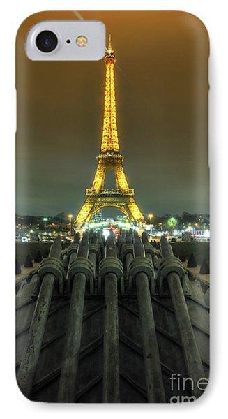 Eiffel Tower 3.0 IPhone Case by Yhun Suarez