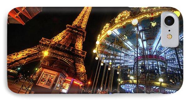 Eiffel Tower 4.0 IPhone Case by Yhun Suarez