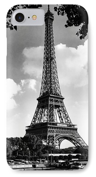 Eiffel Tower IPhone Case by Contemporary Art