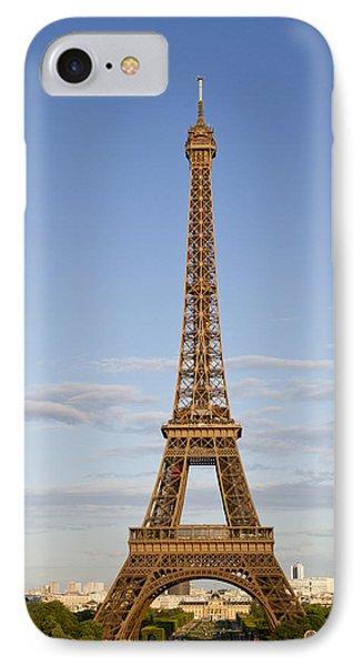 Eiffel Tower IPhone Case by Melanie Viola