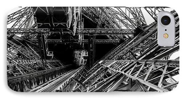 Eiffel Tower IPhone Case by M G Whittingham