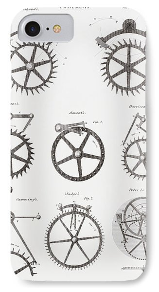 Eight Different Escapement Systems By IPhone Case