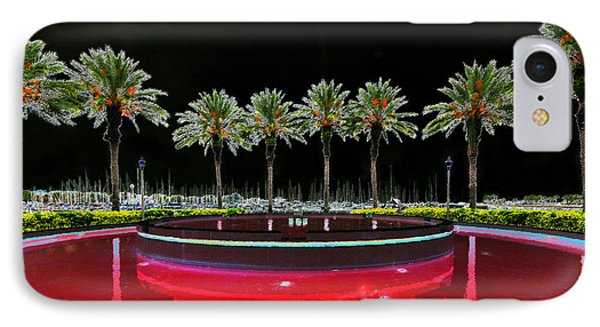 Eight Palms Drinking Wine Phone Case by David Lee Thompson