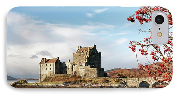 IPhone Case featuring the photograph Eilean Donan - Loch Duich Reflection - Skye by Grant Glendinning