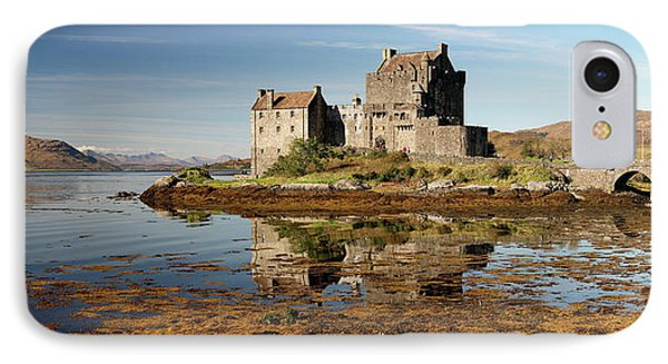 IPhone Case featuring the photograph Eilean Donan Scotland by Grant Glendinning