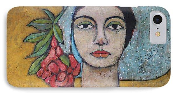 Portraits iPhone 7 Case - Eileen by Jane Spakowsky