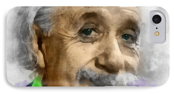 Einstein IPhone Case by Anthony Caruso