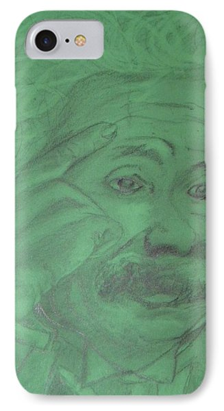 Einstein Phone Case by Manuela Constantin
