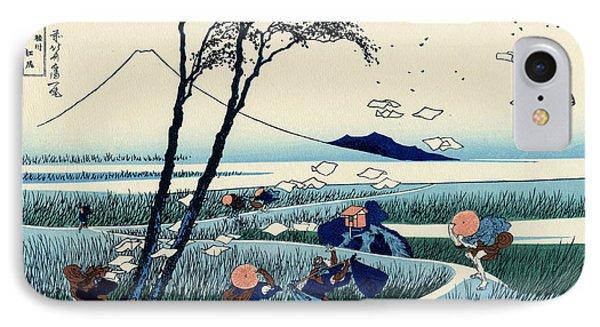 Ejiri In The Suruga Province IPhone Case by Hokusai