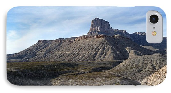 El Capitan - Guadalupe Mountains National Park IPhone Case