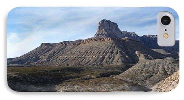 El Capitan - Guadalupe Mountains National Park IPhone Case by Joel Deutsch
