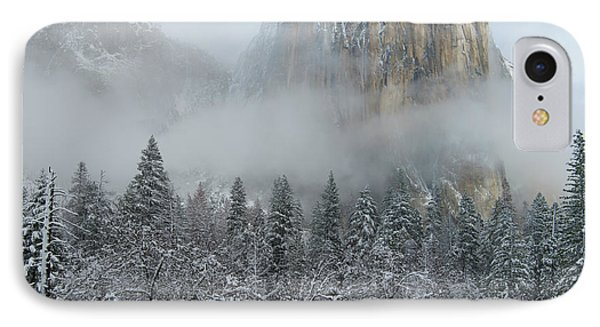 IPhone Case featuring the photograph El Capitan Majesty - Yosemite Np by Sandra Bronstein