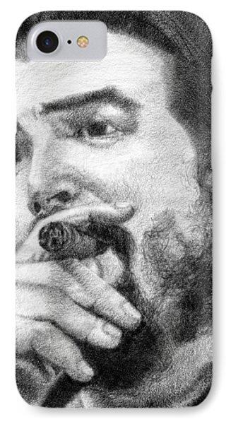 El Che Phone Case by Roberto Valdes Sanchez