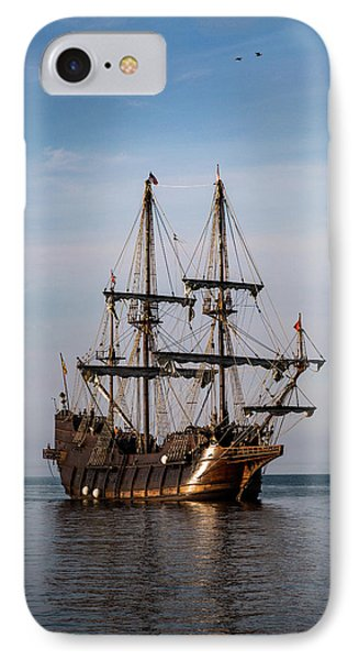 El Galeon Andalucia IPhone Case by Dale Kincaid