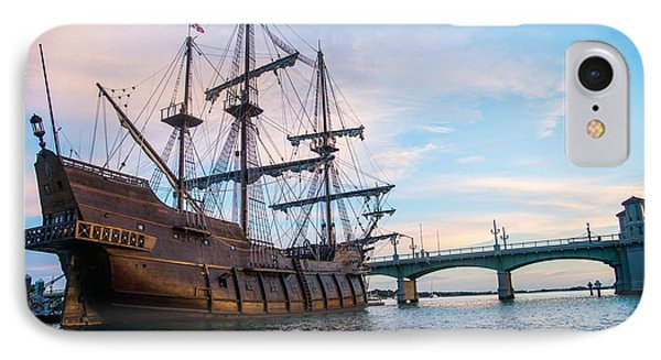 El Galeon IPhone Case