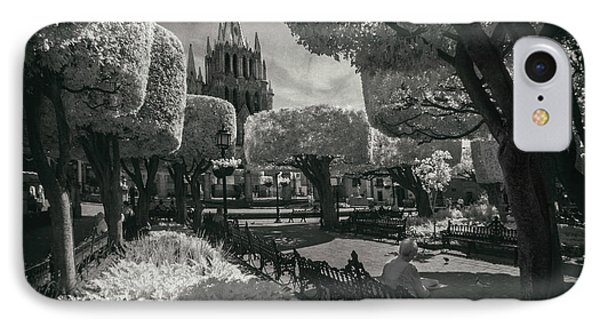 IPhone Case featuring the photograph el Jardin by Sean Foster