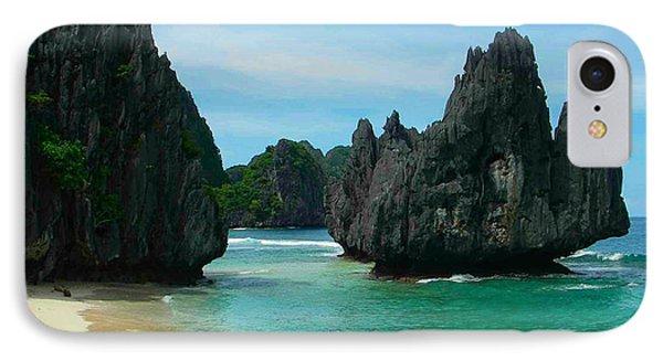 El Nido  The Philippines Last Frontier IPhone Case by Benjie Cuevas