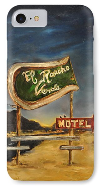 El Rancho IPhone Case by Lindsay Frost